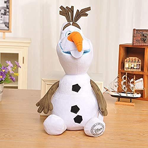 NC88 Juguetes de Peluche 30cm Frozen Cartoon Anime Snowman Muñeco de Peluche Suave para niños Regalo Juguetes