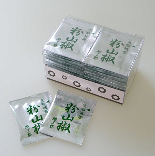 京都限定 祇園 原了郭 粉山椒 豆袋 使いきりパック(0.2g×36個)
