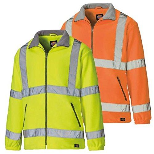 Dickies Fleecejacke Klasse 3 Stufe 2 Warnschutz SA22032, Farbe:orange, Größe:XXL