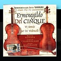 Ermengildo Del Chinkve. 6 Sonatas for Three Cellos