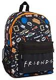 Friends Mochila Escolar Unisex, Mochilas Originales para Colegio y Universidad, Bolsa de Viaje, Friends Merchandising, Regalos Cumpleaños