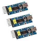 3pcs 3.3V 5V FT232RL FTDI Mini USB to TTL Serial Converter Adapter Module for Arduino Mini Port