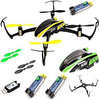 Blade Inductrix BNF Micro Drone with SAFE Technology w// 3x Free Lipos BLH8780