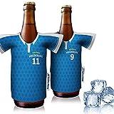 vereins-Trikot-kühler Home für FC Magdeburg Fans | 2er Fan-Edition| 2X Trikots | Fußball Fanartikel Jersey Bierkühler by Ligakakao