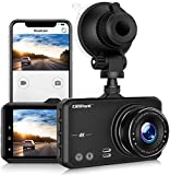 4K Dash Cam with GPS, Campark UHD 2160P Dashboard Camera for Cars