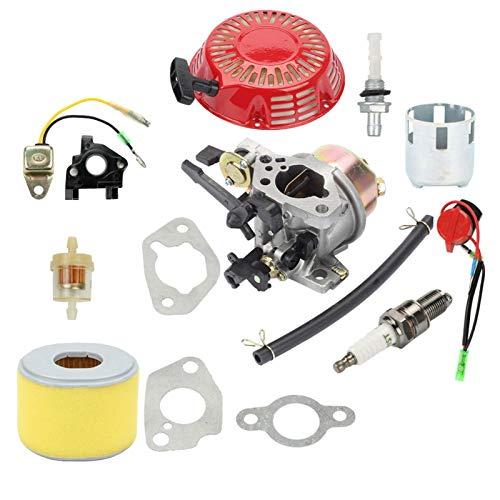 Carburador Kit de carburador para GX240 GX270, Anillos de Junta de Filtro...