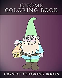 Gnome Coloring Book Stress Drawing