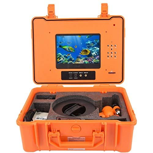 DAUERHAFT Videocamera Subacquea Custodia in plastica Impermeabile Portatile Videocamera da Pesca Batteria Ricaricabile da(European regulations)
