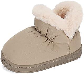 LACOFIA Botas de Invierno para niños Zapatos de Nieve Antideslizantes de Goma para Invierno para niños