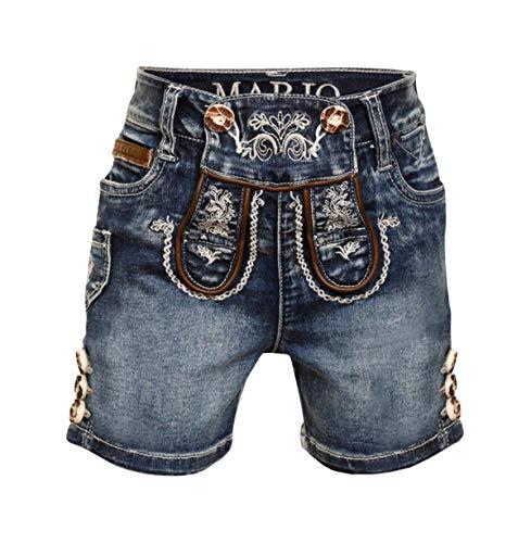 MarJo Jeans Short Kids K69 blau (blau, 110/116)