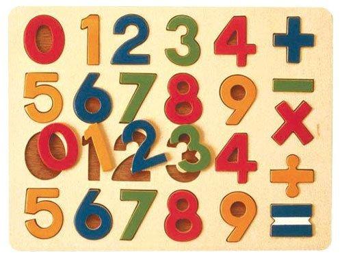 Ed.inter(エド・インター) 木製パズル 数字パズル
