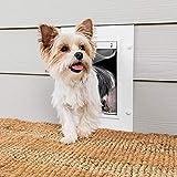 PetSafe Wall Entry Pet Door – Best for Small, Medium...