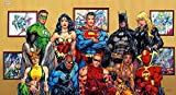 PosterDaddy DC Comics Superheld Wonder Woman Superman