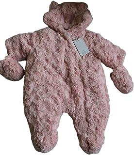 Newborn Baby Fur Bodysuit