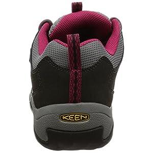 KEEN Women's Oakridge Waterproof Shoe, Magnet/Rose, 9 M US