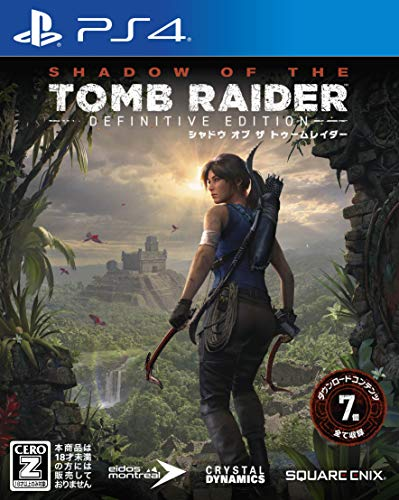 Square Enix Shadow of the Tomb Raider Definitive Edition for SONY PS4 PLAYSTATION 4 REGION FREE JAPANESE IMPORT