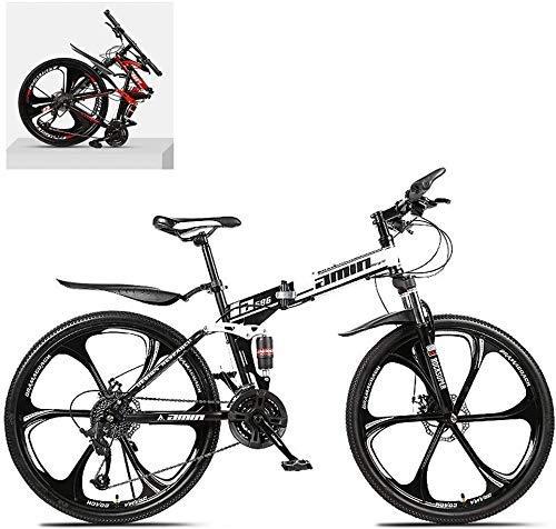 WXHHH 26 Bicicletas De Montaña Plegable Pulgadas, Absorció