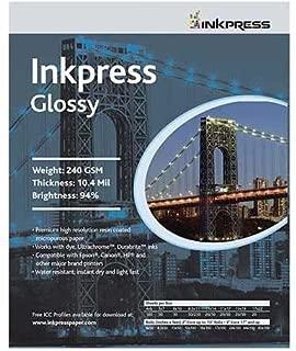 Inkpress PCUG5750 Commercial Glossy Inkjet Paper 5in. X 7in. 50 Sheets