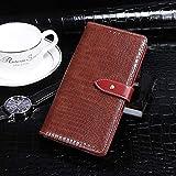 Étui de téléphone Portable Idéal pour Huawei Nova 5Z Texture Crocodile Horizontal Toam Coating...