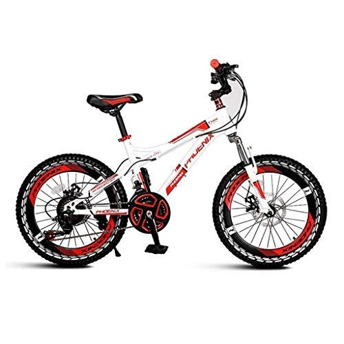 Bicicleta Portátil de una sola velocidad para niños en bicicleta plegable unisex 18 pulgadas bicicleta bicicleta pequeña bicicleta (color: naranja tamaño: 122 x 62 x 83 cm) HRTT