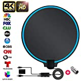 TV Antenna, 2020 Newest HDTV Indoor Digital TV Antenna 130+ Miles Range