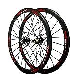 CHICTI Rennrad Fahrrad Laufrad 700C Laufradsatz Doppelwandige Leichtmetallfelge QR V/C Brake...