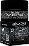Coconix Leather Recoloring Balm Pure Black - Recolor, Renew, Repair & Restore Aged, Faded, Cracked, Peeling and Scuffed Leather & Vinyl Couches, Boat or Car Seats, Furniture
