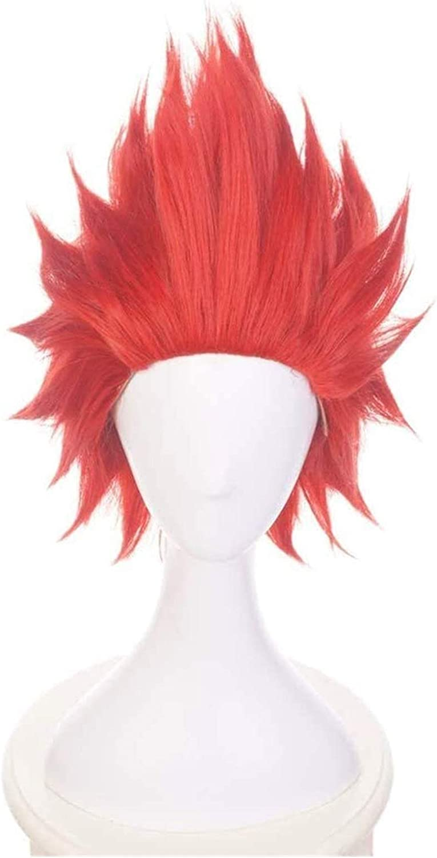 Max 62% OFF SUCICI Anime Cosplay Wig My Ranking TOP20 Eijiro Kirishima Hero Academia Cospl