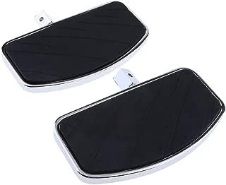 D DOLITY 1 Pair Motorcycle Floorboard Front Foot Pegs for Honda Magna VF250 Yamaha V-Star DragStar XVS 650 / Virago XV125/250/400
