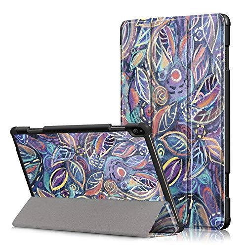 Hoes voor Lenovo Tab P10 TB-X705L TB-X705F 10.1 Smart Cover Funda Tablet Slim Magnetische houder Klapbaar Skin Shell D063