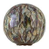 Alpine Corporation, Multicolor Alpine TOM252 Ceramic Gazing Globe, Tall Color, 10'