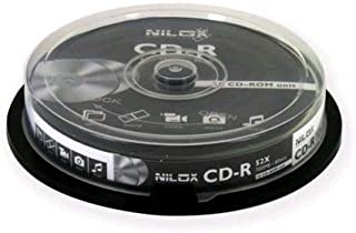 Nilox CD-R Compact Disc-Recordable, 700 Mb/80 Minutes