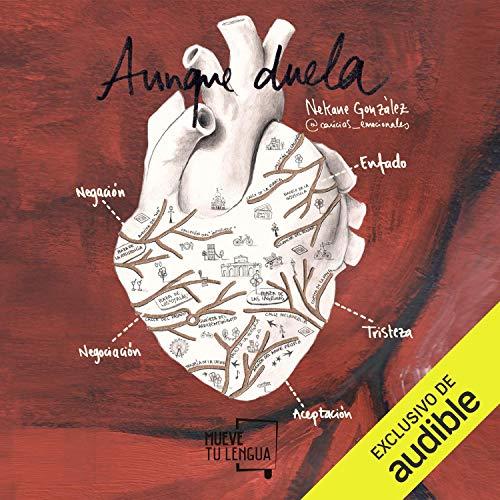 Diseño de la portada del título Aunque Duela