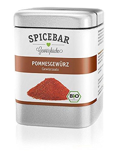 Spicebar Pommes-Gewürz, Gewürzsalz in Bio Qualität
