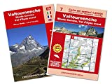 Valtournenche, monte Cervino trekking. Con cartina 1:250.000. Ediz. multilingue