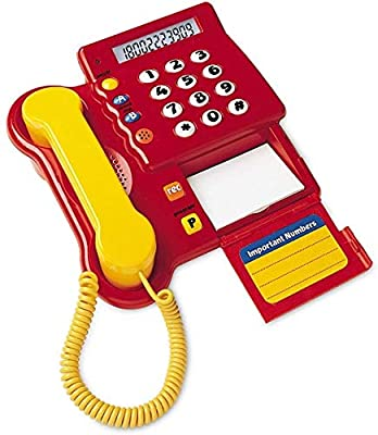 Learning Resources Teaching Telephone,Multi-color,3 L x 2 H in from Learning Resources
