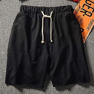 12a4af29c9 Shorts Short en Éponge De Couleur Unie pour Hommes, Sports Et Loisirs Danse  De La