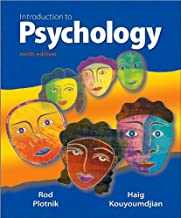 Introduction to Psychology (text only) 9th (Ninth) edition by R. Plotnik,H. Kouyoumdjian