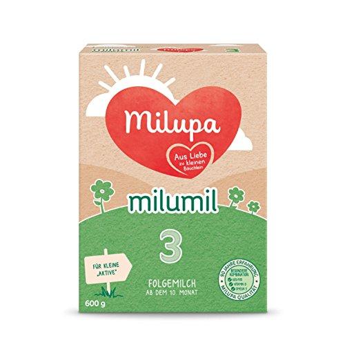 Milupa Milumil 3 Folgemilch - mach dem 6. Monat, 600g, 5er Pack (5 x 600g)