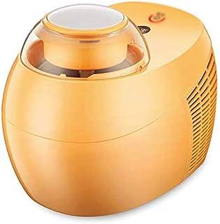 WGNHM Small Automatic Yogurt Machine Refrigerated Children's Homemade Ice Cream Machine Ice Cream Machine (Color : Yellow)