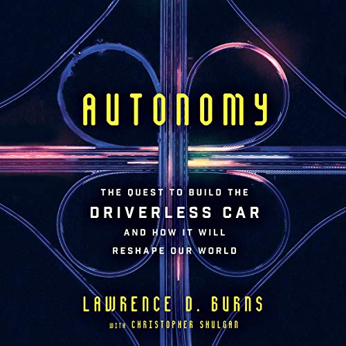 Autonomy audiobook cover art