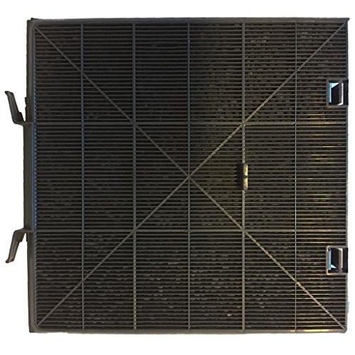 Exquisit Aktivkohlefilter Kohlefilter Filter für Dunstabzugshaube Schwarz C09