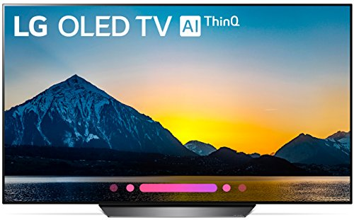 LG Electronics OLED65B8PUA 65-Inch 4K Ultra HD Smart OLED TV (2018 Model)