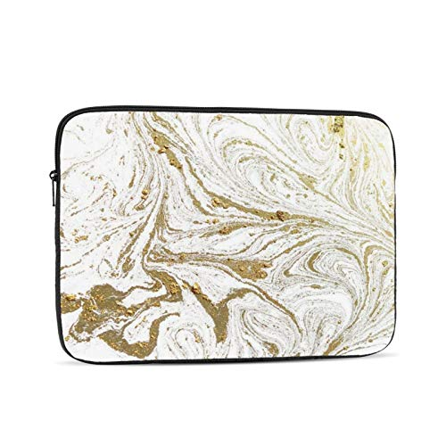 KXT Marbled Blue Laptop Sleeve,Carrying Bag Chromebook Case Notebook Bag Tablet Cover