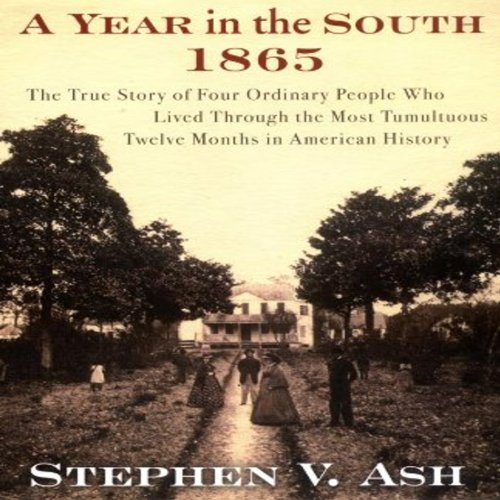 A Year in the South: 1865 audiobook cover art