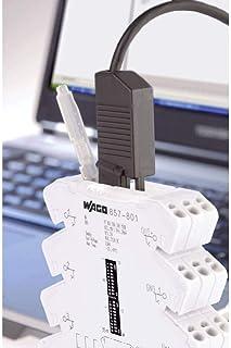 Wago 750-923 câble USB 2,5 m USB A Noir