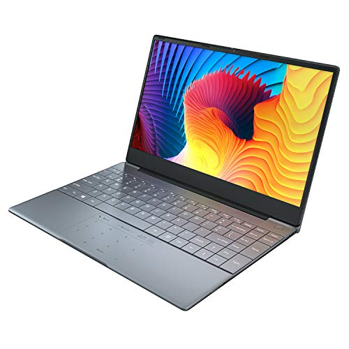 Notebook Windows10, PC Portatile da Intel Celeron J4115 Quad Core Fino a 2.5Ghz, 14.1 pollici Ultrabook con TIPO C USB3.0 impronta digitale Sblocca la retroilluminazione della tastiera(8GB+512GB SSD)