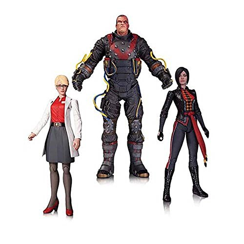 Arkham Origins: Electrocutioner, Harleen Quinzel, and Lady Shiva 3-Pack