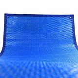 Lona alquitranada Cubierta Solar para Servicio Pesado para Piscinas Enterradas, Cubierta para Piscinas Interiores Y Exteriores, Azul (Size : 4.7x2.5m(15.4x8.2ft))