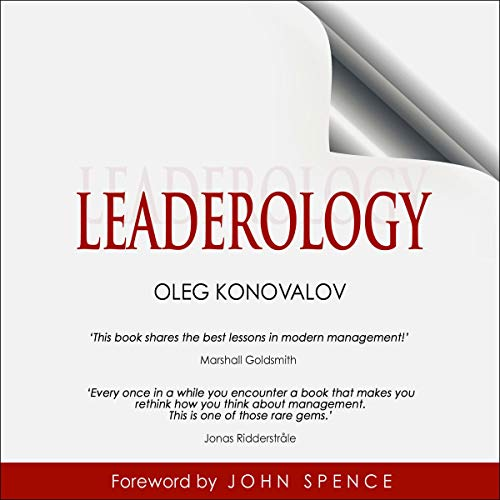 Couverture de Leaderology